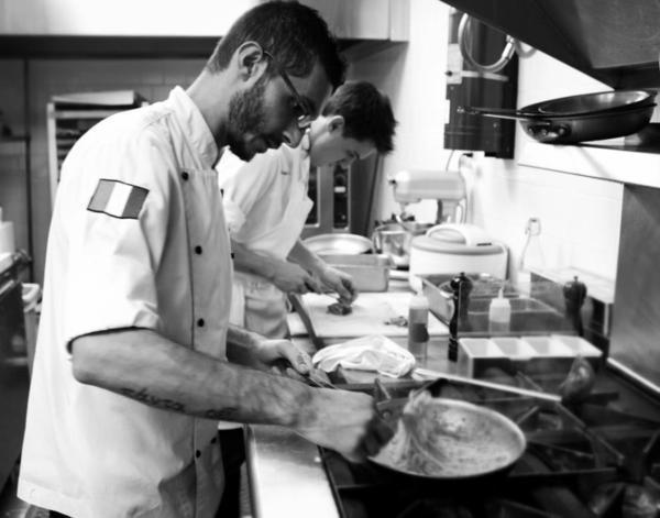 Walter el Nagar is the chef at pop-up Barbershop Ristorante Italiano.