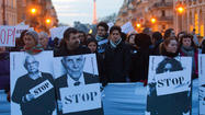 BEIRUT (AP) — On the second anniversary of Syria's uprising, there were only small protests and a few firecrackers defiantly popping in the capital of Damascus — a grim contrast to the early days when crowds of demonstrators danced to the drums of rebellion against President Bashar Assad.