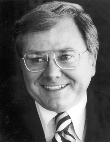 John J. Byrne, shown in 1985, used tough love to turn around Geico. Among the measures he took was cutting the workforce to about 4,000 from 7,000.