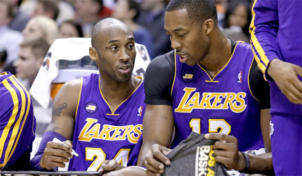 Kobe Bryant lasted only 12 minutes before he was relegated to the bench during the Lakers' 99-93 win over the Indiana Pacers on Friday.