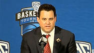 Arizona's Sean Miller gets technical for 'he touched the ball'