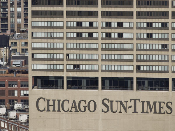 The Chicago Sun-Times Building.