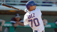 "MESA, Ariz. -- He's only 20, but even <strong>Javier Baez</strong> said what he has done the last two days is ""amazing."""