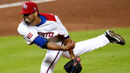 PHOENIX -- Right-hander Fernando Cabrera, a nonroster invitee, might have hurt his chances to make the Angels' opening-day roster by choosing to pitch for his native Puerto Rico in the World Baseball Classic.