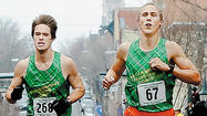 The Williamsport Running Company meant business Saturday morning in downtown Hagerstown.