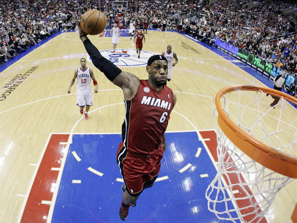 LeBron James and the Miami Heat are still slamming the rest of the NBA.