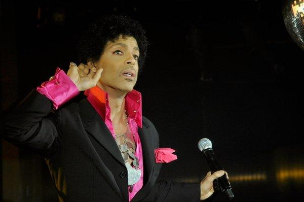 Prince performed a late set on the final night of South by Southwest in Austin, Texas.
