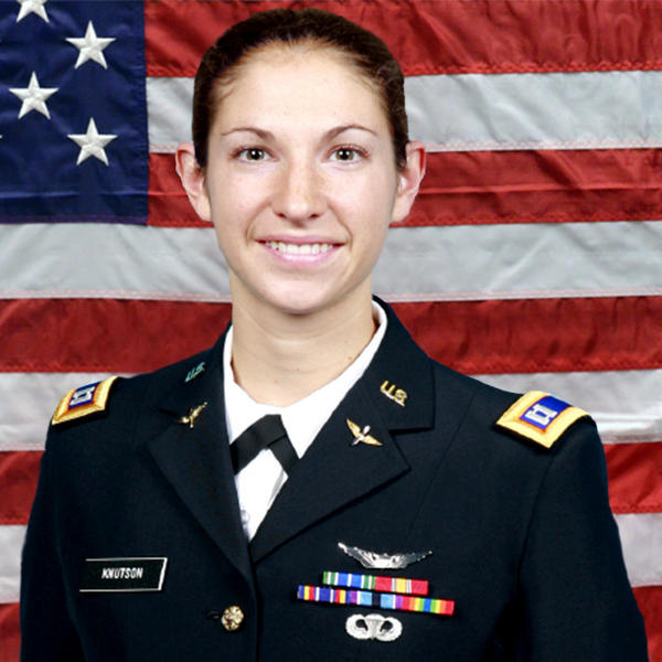 Capt. Sara Knutson Cullen, 27, of Eldersburg, died Monday in Kandahar, the Pentagon said in a release. She was assigned to Headquarters and Headquarters Company, 3rd Combat Aviation Brigade, 3rd Infantry Division, Hunter Army Airfield, Ga.