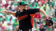 Jason Hammel 'not too happy' with outing in Orioles' 5-3 loss to Phillies