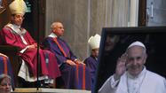 Hundreds join archbishop for Mass to celebrate Pope Francis