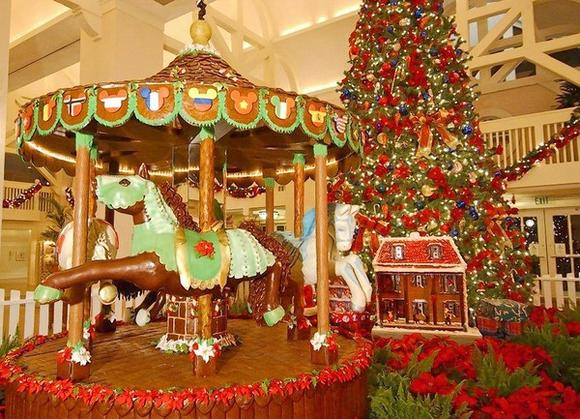 Disney's Beach Club Resort edible carousel