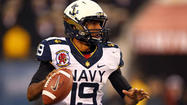 As Navy coach Ken Niumatalolo and offensive coordinator Ivin Jasper broke down film from the team's 2012 season, they noticed that the Midshipmen didn't look out of sync when freshman quarterback Keenan Reynolds took the snap out of a shotgun formation.