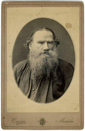 "The Russian author Leo Tolstoy, circa 1880. His tract, ""What, Then, Must We Do?"" played a role in an episode of street justice in Iran."