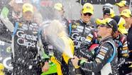 BRISTOL, Tenn. -- Kasey Kahne's bumper-banging battle with Brad Keselowski was just the warm-up act in an action-packed race at Bristol Motor Speedway on Sunday.