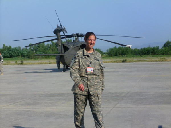 U.S. Army Capt. Sara Knutson Cullen, 27, from Eldersburg was killed in a helicopter crash in Afghanistan.