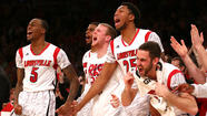 The red-colored and red-hot Louisville Cardinals earned the No. 1 overall seeding for this year's NCAA tournament.