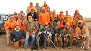 Disabled American Veterans pheasant hunt