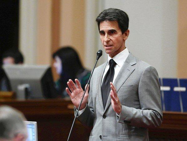 """This legislation would allow destination cities like San Francisco, Los Angeles and San Diego to start local conversations about the possibility of expanding night life and the benefits it could provide the community by boosting jobs, tourism and local tax revenue,'' said state Sen. Mark Leno (D-San Francisco) about a bill he introduced that could extend the last call for alcohol in some California cities until 4 a.m. Above, Leno at the Capitol in Sacramento this month."