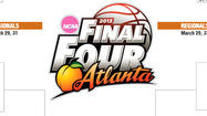 Printable 2013 NCAA men's basketball tournament bracket