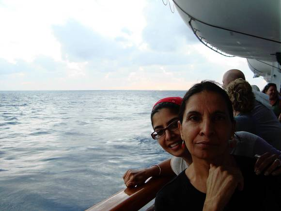 Sandeep Kaur Berry and her mother, Balbir Kaur Singh, aboard the ill-fated Carnival Triumph, which lost power in the Caribbean