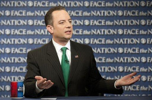 """Republican National Committee Chairman Reince Priebus on CBS' """"Face the Nation,"""" a day before the GOP releases its internal study on how the party might halt its presidential losing streak."""
