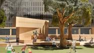 Architect <span>Frank <span>Gehry</span></span>'s controversial design for the proposed Dwight D. Eisenhower Memorial is once again the object of bickering in Washington.