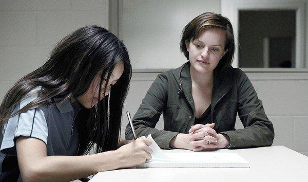 "Tui (Jacqueline Joe), left, and Detective Robin Griffin (Elisabeth Moss) in ""Top of the Lake."""