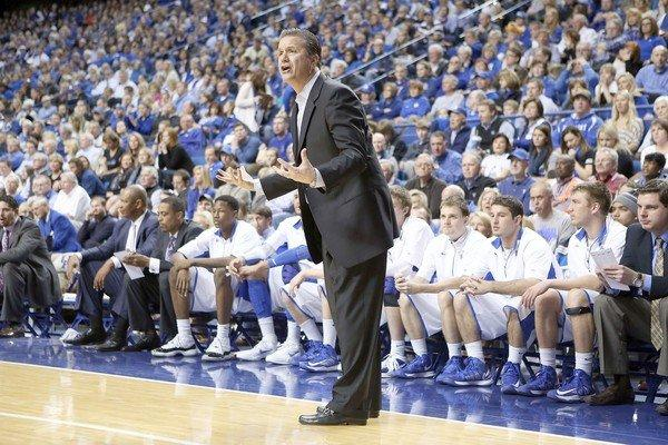 John Calipari and the defending NCAA champion Kentucky Wildcats will have to settle for the NIT this year.