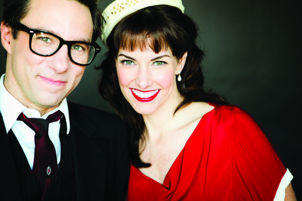 The guitar-and-ukelele jazz duo Victor & Penny will perform March 20, 2013, at Merrimans' Playhouse in South Bend. (Photo provided)