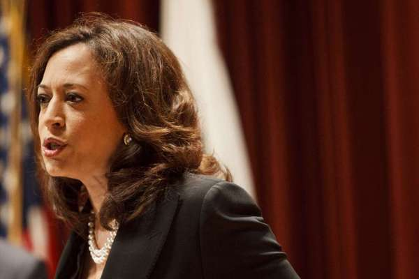 California Atty. Gen. Kamala Harris is among the nine state attorneys general, all Democrats, who signed the letter calling for DeMarco's ouster.