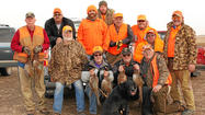 Disabled American Veterans members take part in hunt