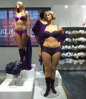 Swedish mannequins spark body-image debate