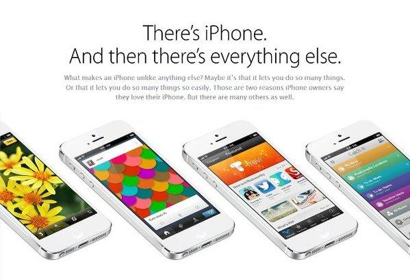 Apple launched a new site that lists the benefits of the iPhone.
