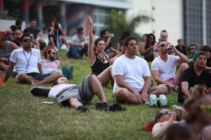 Ultra people-watching - Ultra Music Festival 14 - March 23, 2012