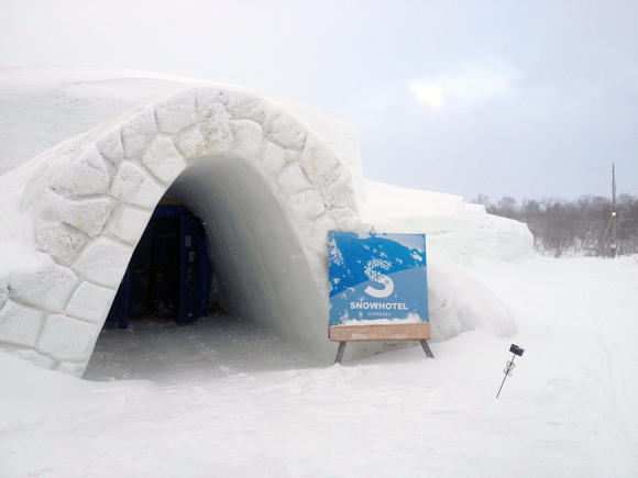 Travel to Norway's Snow Hotel