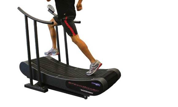 Treadmills ellipticals tap into natural power for Best non motorized treadmill