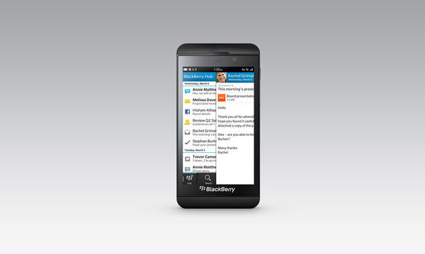 The BlackBerry Z10 is the Canadian phone maker's latest attempt at regain a foothold in the American phone market.