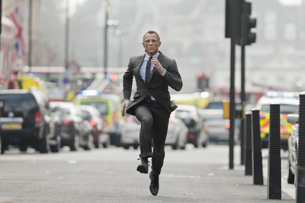 "Daniel Craig starred in MGM's ""Skyfall,"" which grossed $1.1 billion worldwide."