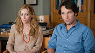 "They had supporting roles in ""Knocked Up,"" but Paul Rudd and Leslie Mann get center stage as they reprise the characters in writer-director Judd Apatow's amusing comedy about reaching midllfe."