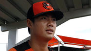 Orioles lefty Wei-Yin Chen struggles to find tempo against free-swinging minor leaguers