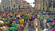 Around 22,000 people watched Roanoke's St. Patrick's Day Parade on Saturday and saw some impressive floats.