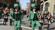 "My compliments to the organizers of the recent Baltimore St. Patrick's Day Parade (""Thousands line Baltimore Streets for St. Patrick,"" March 11). It was a great parade, but it was missing one key ingredient: the Ravens marching band — Baltimore's Marching Ravens — was nowhere to be seen!"
