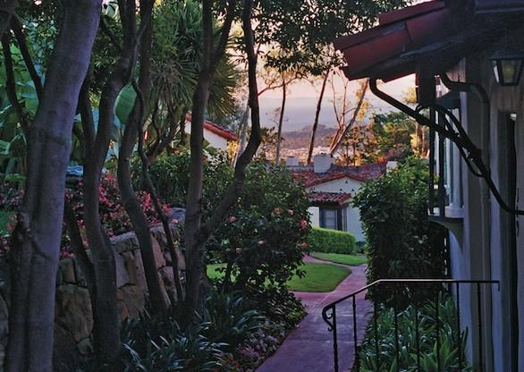 Pathways lined with citrus trees and other plants lead to the 92 bungalows atop a hill. The classic hotel has a new spa, gym and ballroom.