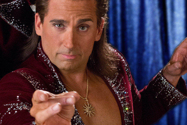"Steve Carell in ""The Incredible Burt Wonderstone."""
