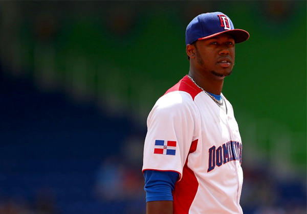 Hanley Ramirez has alternated between third base and DH in the WBC.