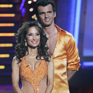 "<b>POST-ELECTION TALLIES:</b> A ""Dancing With the Stars"" results show, in which Susan Lucci and Tony Dovolani were eliminated -- preempted from Tuesday -- slipped to a near-record low on Wednesday night."