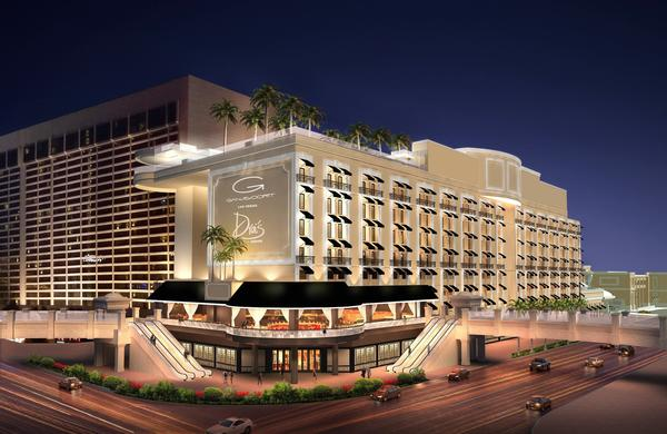An artist's rendering shows what the Gansevoort Las Vegas will look like when it opens in early 2014.