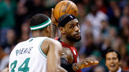 — With Kevin Garnett out sick, Jeff Green was making the Miami Heat sick. Green drove it down the Heat's throats for 43 points. The Celtics not only went on a 17-0 run in the first half, they led by as many as 17. With the TD Garden reaching near deafening heights, the Celtics led by as many as 13 with only 8:27 remaining.