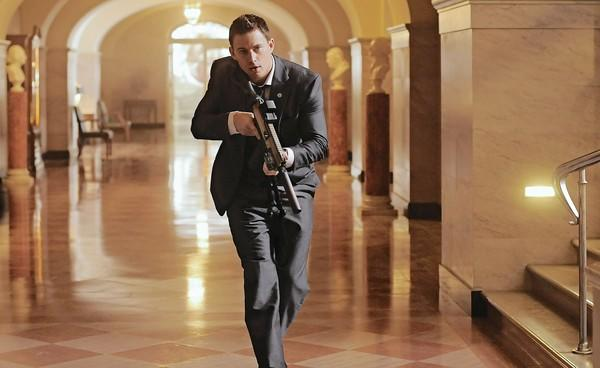 "Channing Tatum in ""White House Down."""