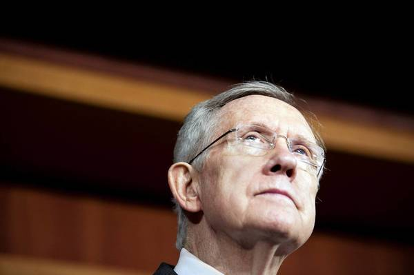 "Senate Majority Leader Harry Reid (D-Nev.) chided senators last week for what he called an ""if he gets his, I get mine"" approach to amending a spending bill. The chamber agreed Monday to consider the bill with few amendments."